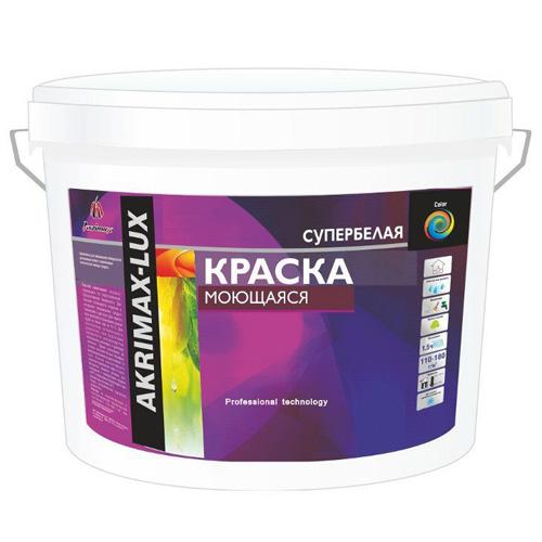Краска моющаяся Akrimax, 3 кг по выгодной цене