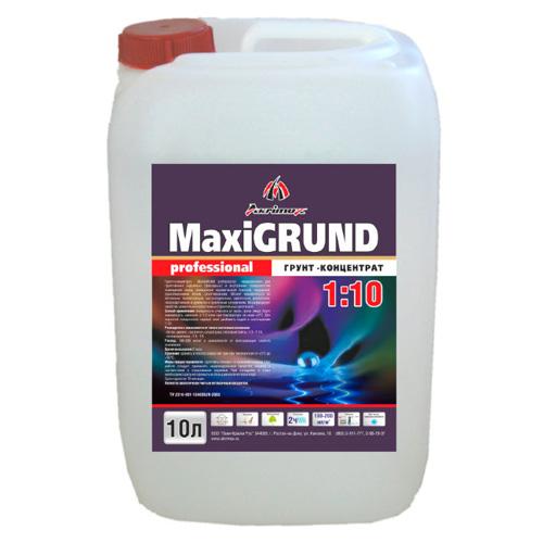 Грунт-концентрат MaxiGRUND Professional, 10л по выгодной цене