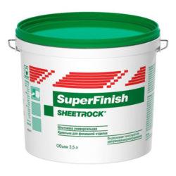 Шпаклевка готовая финишная SuperFinish DANOGIPS 3л