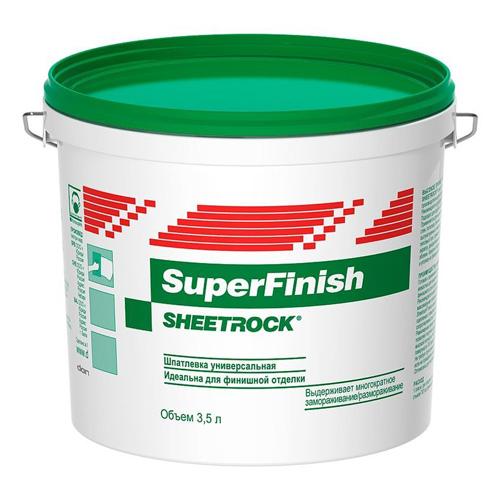 Шпаклевка готовая финишная SuperFinish DANOGIPS 3л/120 по выгодной цене