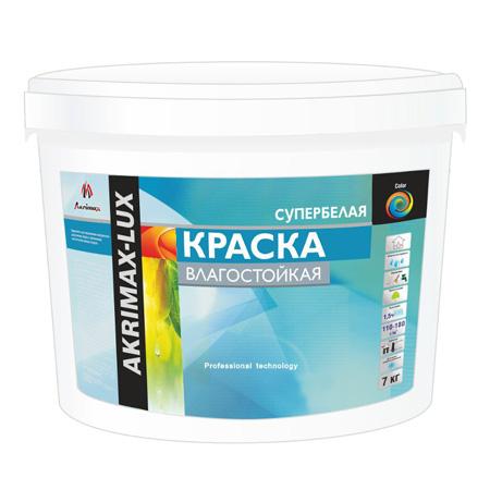 Краска влагостойкая  АKRIMAX 15 кг по выгодной цене