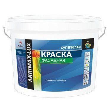 Краска фасадная «AKRIMAX-LUX» 15 кг по выгодной цене