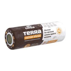 Маты теплоизоляционные URSA Terra 35 QN Скатная крыша 3900x1200x150, 4,68кв.м