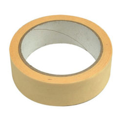 Бум.клейк.лента,48мм*25м, термостойк. до 40°C(6/24)