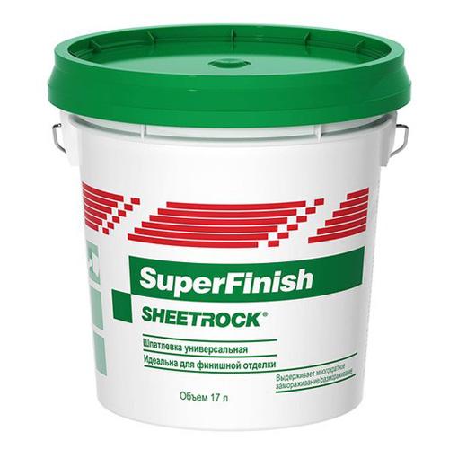 Шпаклевка готовая финишная SuperFinish DANOGIPS, 17л по выгодной цене
