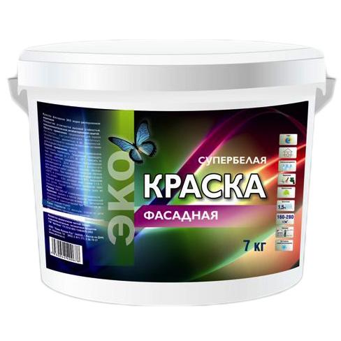 Краска ЭКО фасадная 14 кг по выгодной цене