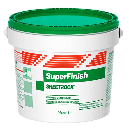 Шпаклевка готовая финишная SuperFinish DANOGIPS, 11л по выгодной цене