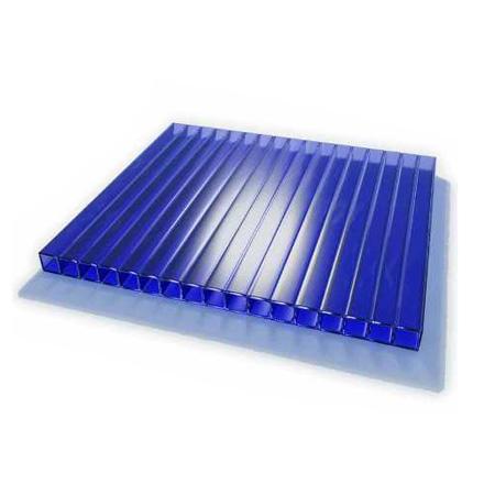 Поликарбонат ULTRAMARIN 8 мм синий, 12 м по выгодной цене