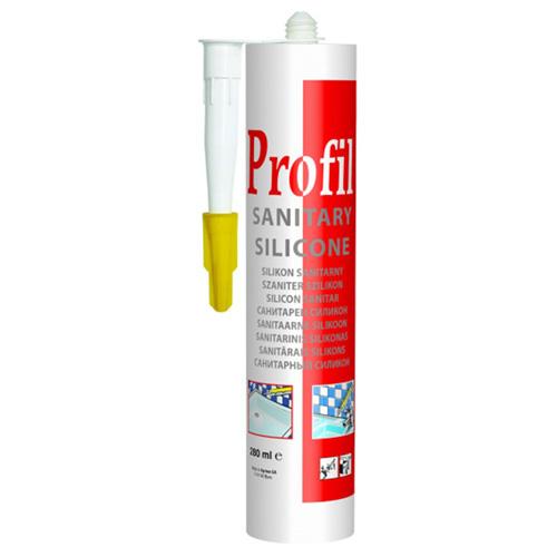 Герметик силиконовый Соудал Profi санитарный бесцветный, 280 мл по выгодной цене