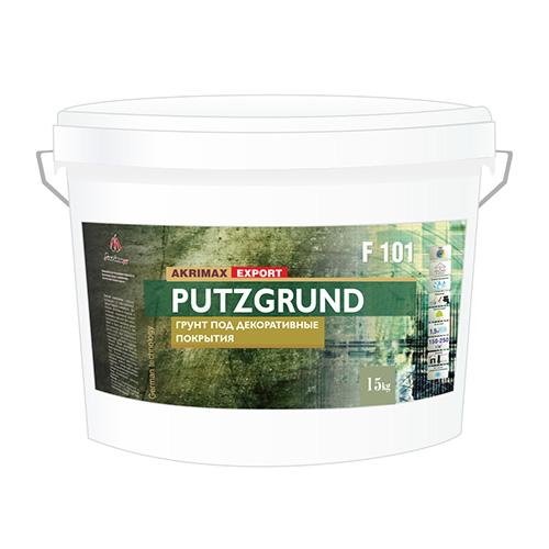 Грунт под декоративные штукатурки PUTZGRUND F101, 15кг по выгодной цене