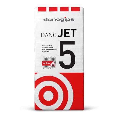 Шпаклевка выравнивающая полимерная DANO JET5, 25кг по выгодной цене