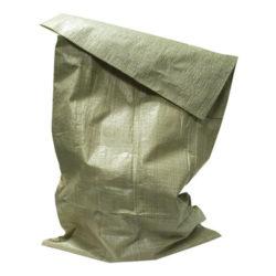 Мешки полипропиленовые 55х95см зеленые