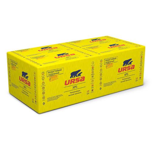 Пенополистирол URSA XPS N-III-G4-L-1180-600-50 (4,956кв.м)/0,247м3/уп 7шт по выгодной цене