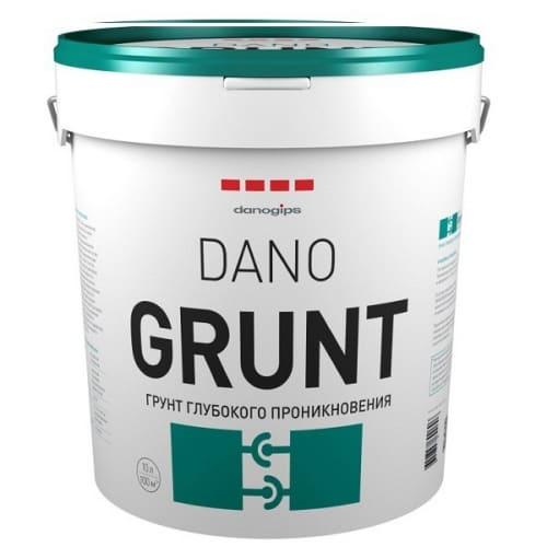 Грунт глубокого проникновения Dano GRUNT 10л по выгодной цене