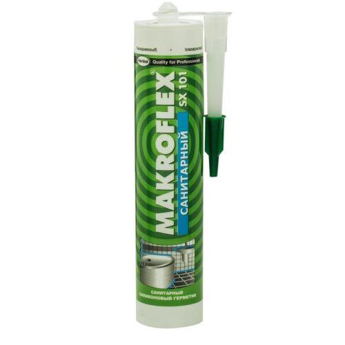 Герметик силиконовый Макрофлекс SХ/SX101 санитарный прозрачный по выгодной цене
