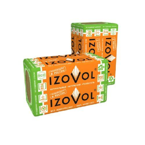 Каменная вата IZOVOL Ст-75 1000х600х100 по выгодной цене