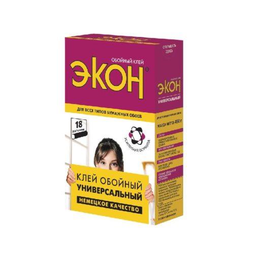 Клей обойный ЭКОН Универсальный, 450 г.,1/12/36, 1830002 по выгодной цене