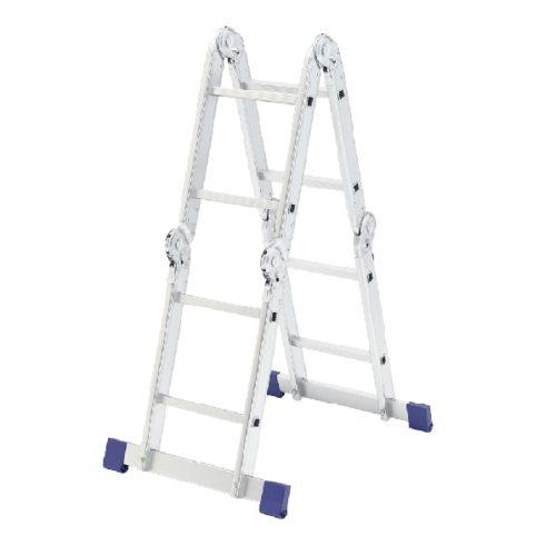 Лестница шарнирная алюминиевая, 4х2// Сибртех Россия по выгодной цене