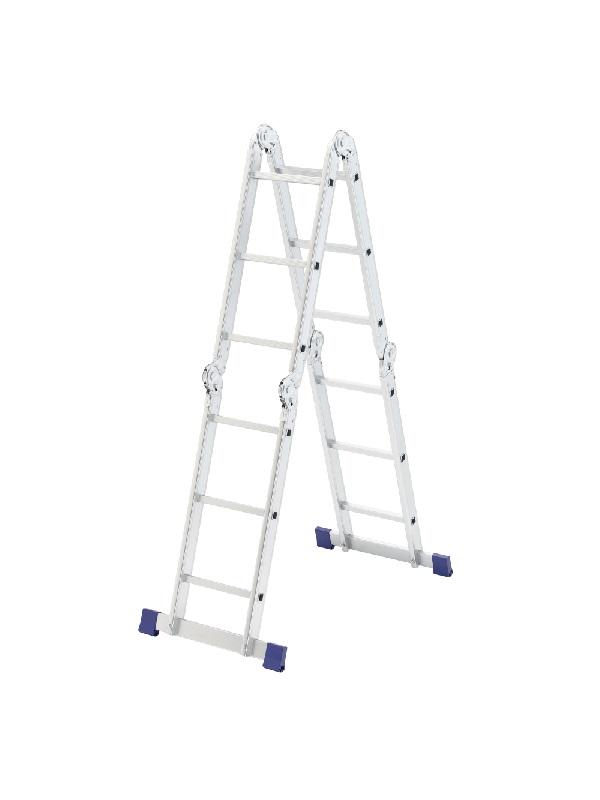 Лестница шарнирная алюминиевая, 4х3// Сибртех Россия по выгодной цене
