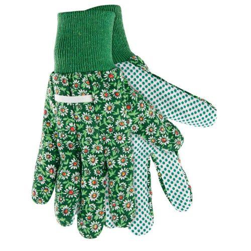 Перчатки садовые х/б ткань с ПВХ точкой, манжет, S PALISAD по выгодной цене