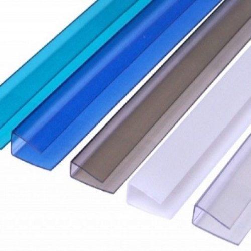Профиль поликарбонатный SUNNEX UP торцовый 10 мм прозрачный 2,1 м по выгодной цене