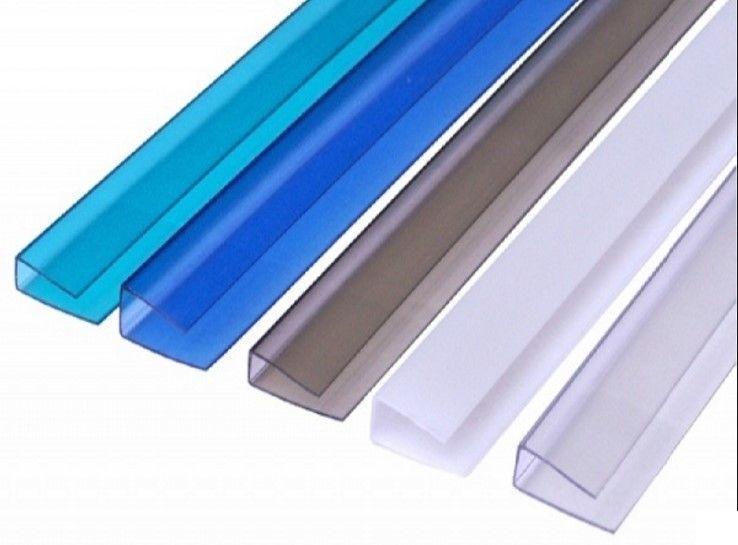 Профиль поликарбонатный SUNNEX НP соединительный 10 мм, Прозрачный; 6 м по выгодной цене