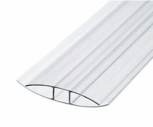 Профиль  соединительный поликарбонатный PLASTILUX НP 10 мм прозрачный 6 м по выгодной цене