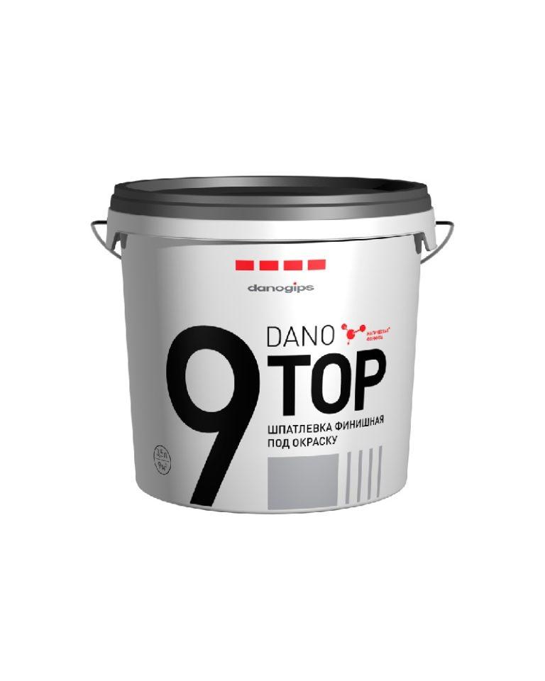 Шпатлевка финишная под окраску DANO TOP 9 (3,5л)/120 по выгодной цене
