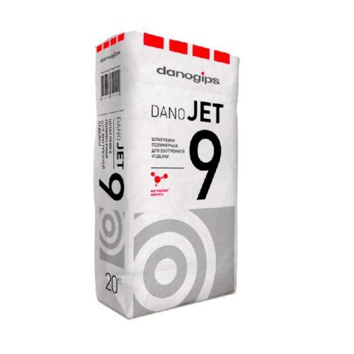 Шпаклевка финишная полимерная DANO JET 9, 20кг по выгодной цене