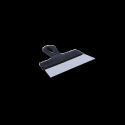 Шпатель 200 мм из нержавеющей стали с пластмассовой ручкой