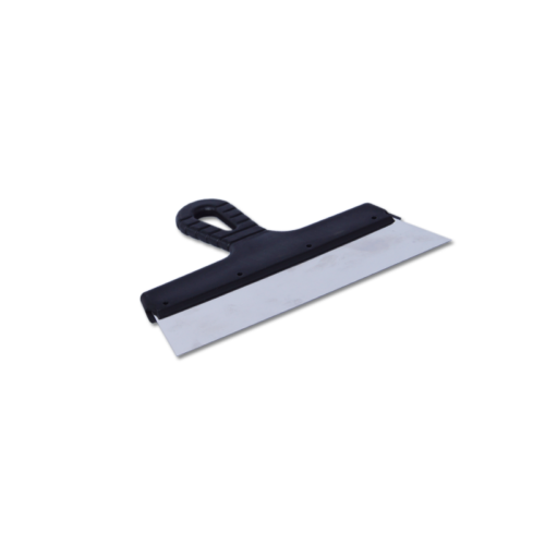 Шпатель фасадный из нержавеющей стали 250 мм пластмассовая ручка по выгодной цене