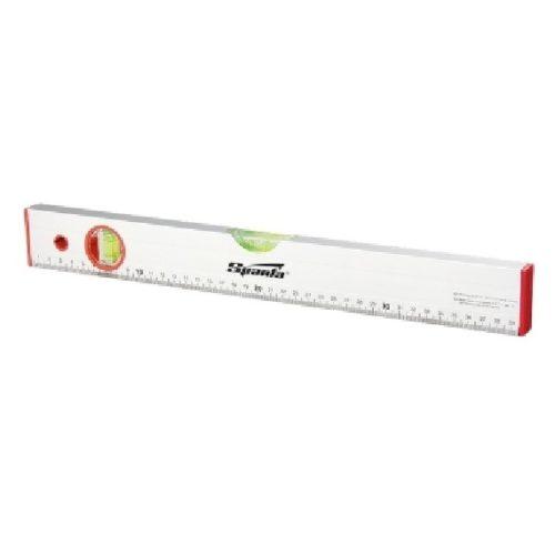Уровень алюминиевый SPARTA 1000 мм, 2 глазка, линейка по выгодной цене