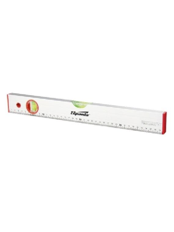 Уровень алюминиевый, 1500 мм, 2 глазка, линейка// SPARTA по выгодной цене