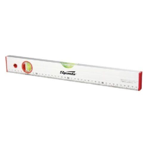 Уровень алюминиевый SPARTA 1800 мм, 2 глазка, линейка по выгодной цене