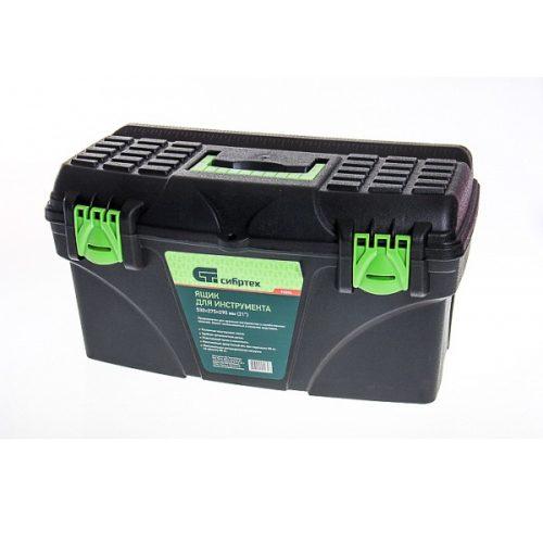 Ящик для инструмента СИБРТЕХ 530х275х290мм 21″ пластик по выгодной цене