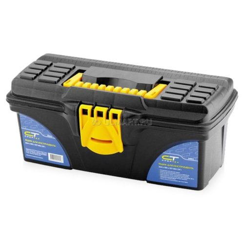 Ящик для инструмента,СИБРТЕХ 324х165х137мм 13″ пластик по выгодной цене