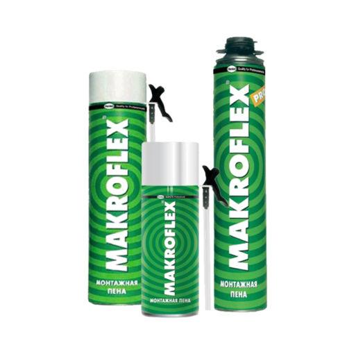Пена монтажная стандарт всесезонная Макрофлекс ShakeTek 750 мл (Эстония) по выгодной цене
