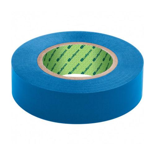 Изолента ПВХ, 15 мм х 10 м, синяя // СИБРТЕХ по выгодной цене