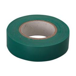 Изолента ПВХ 19мм х 20м зеленая Сибртех