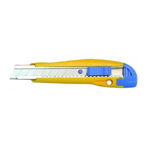 Нож 18мм с металлической ведомой 888, винт для фиксации, резино-пластиковый корпус 3064980 по выгодной цене