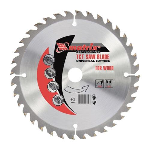 Пильный диск по дереву, 230 х 32мм, 36 зубьев + кольцо 30/32// MATRIX Professional по выгодной цене