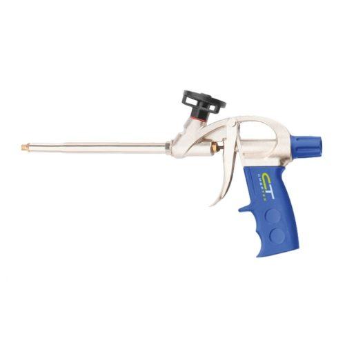 Пистолет для монтажной пены усиленный алюминиевый корпус, Сибртех по выгодной цене