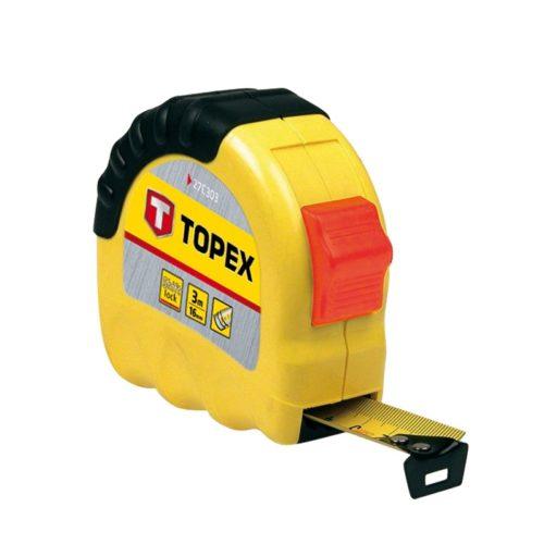 Рулетка 3м x 16мм стальная лента TOPEX по выгодной цене