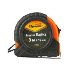Рулетка Elastica 3м х 16мм обрезиненный корпус, SPARTA