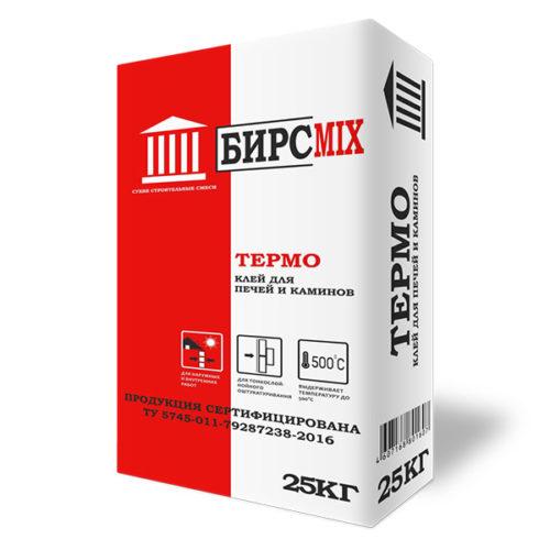 Клей плиточный ТЕРМО, БИРСMIX, 25 кг/60 по выгодной цене