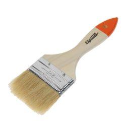 Кисть плоская Slimline 2,5″ (63 мм) натуральная щетина, деревянная ручка SPARTA