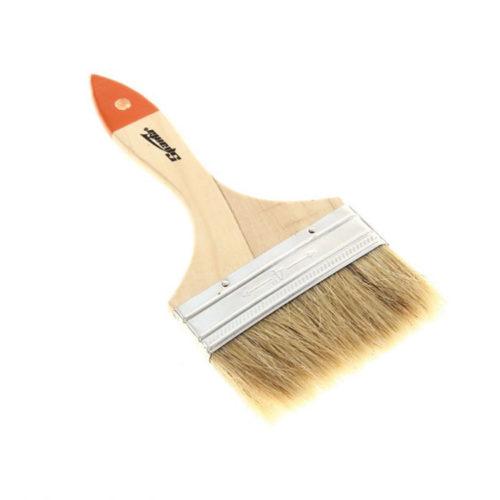 Кисть плоская Slimline 4″ (100 мм) натуральная щетина, деревянная ручка SPARTA по выгодной цене