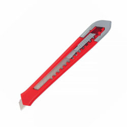 Нож 9мм, выдвижное лезвие, корпус ABS-пластик MATRIX