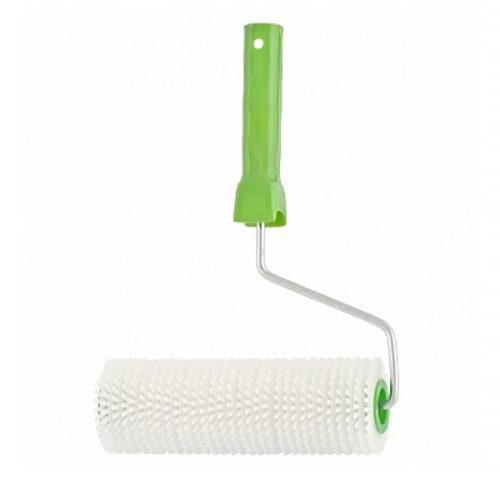 Валик игольчатый  для наливных полов с ручкой, 240 мм Сибртех по выгодной цене