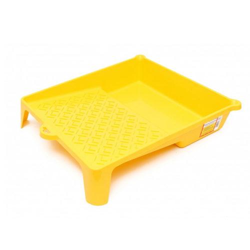 Ванночка для краски 888 пластмассовая 33х34 см желтая 1876019 по выгодной цене